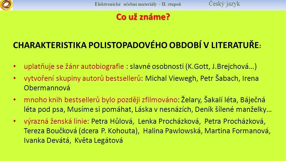 Elektronické učební materiály - II.stupeň Český jazyk MICHAL VIEWEGH Životopis narozen 31.