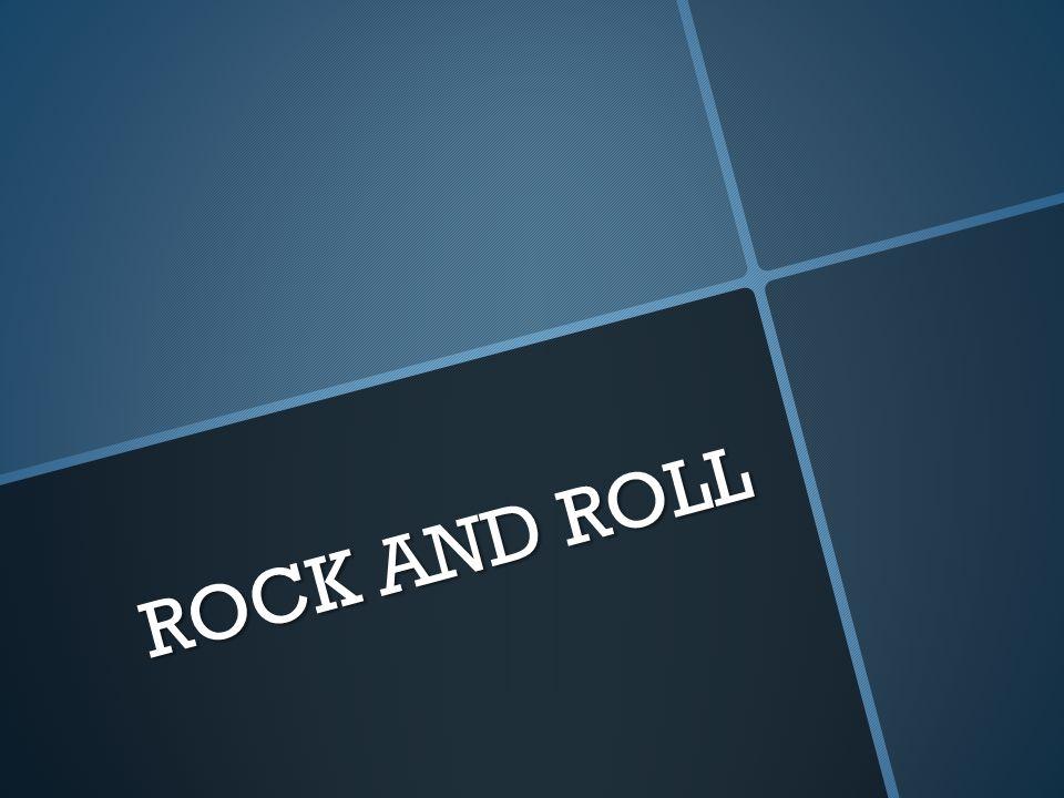 Rock and roll Č ernošští muzikanti takovou hudbu hráli ji ž d ř íve, nazývali ji rhythm and blues.