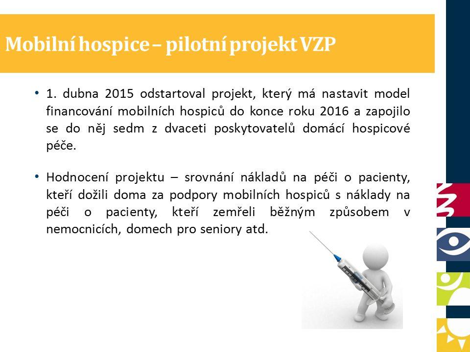 Mobilní hospice – pilotní projekt VZP 1.
