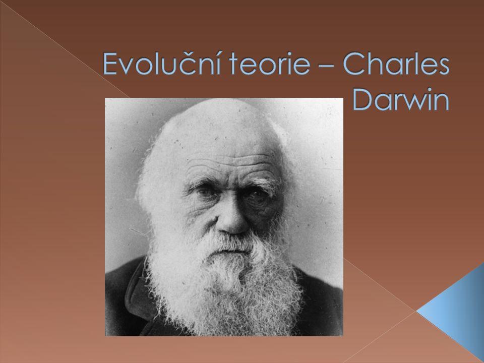  narodil se ve Shrewsbury v Anglii 1809  přírodovědec a zakladatel evoluční biologie  vystudoval teologii na University of Cambridge  plánoval navštívit ostrovy Madeiry a studovat tam přírodopis v tropech