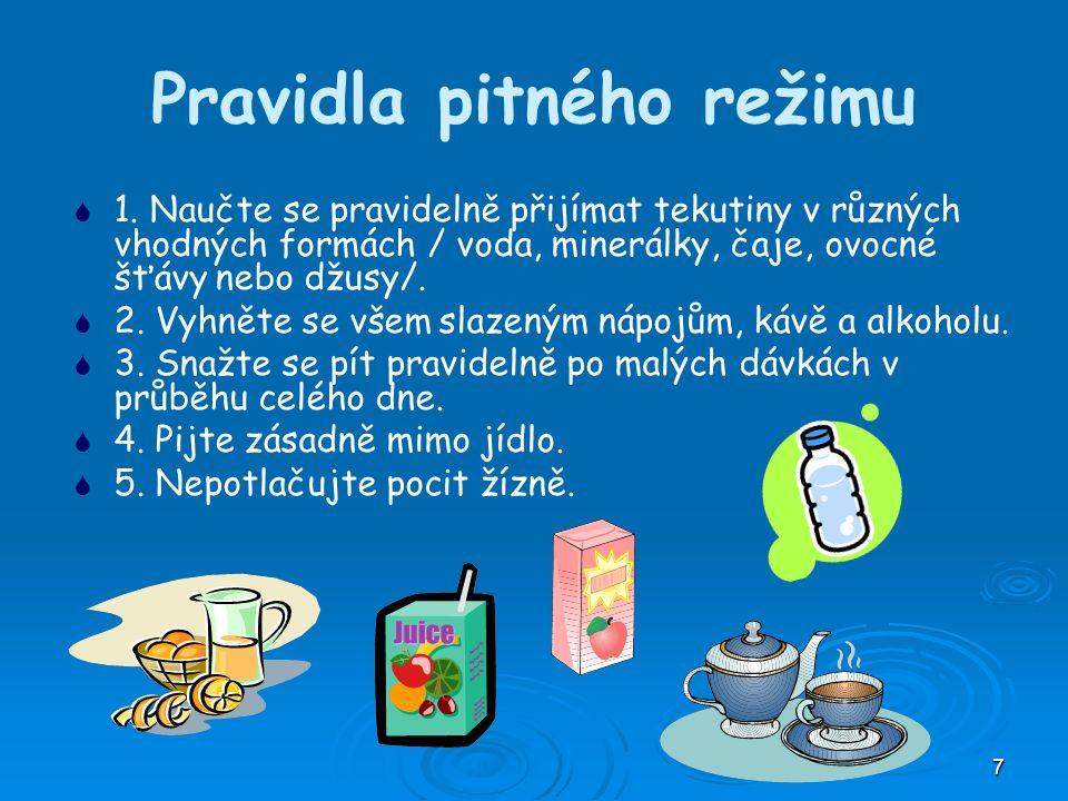 7 Pravidla pitného režimu   1.