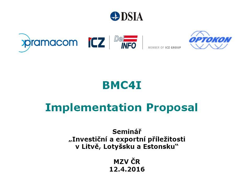 """Seminář """"Investiční a exportní příležitosti v Litvě, Lotyšsku a Estonsku MZV ČR 12.4.2016"""