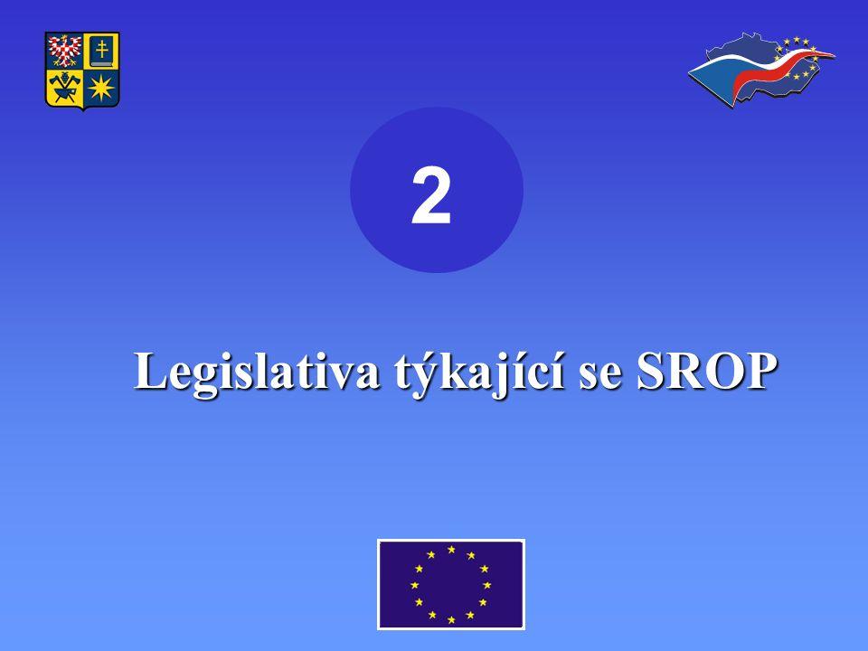 Legislativa týkající se SROP 2