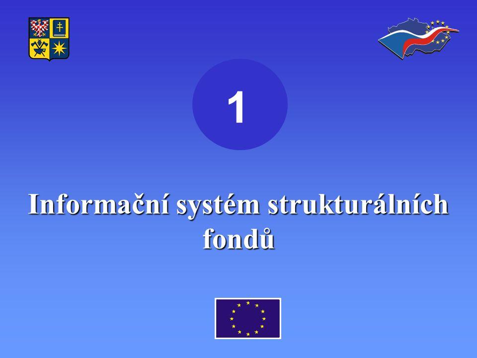 Informační systém strukturálních fondů 1