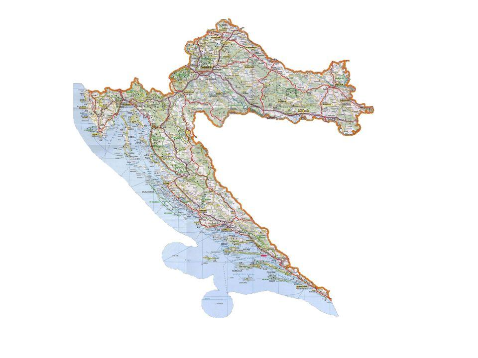 Informace o Chorvatsku Parlamentní republika (4,5 mil.