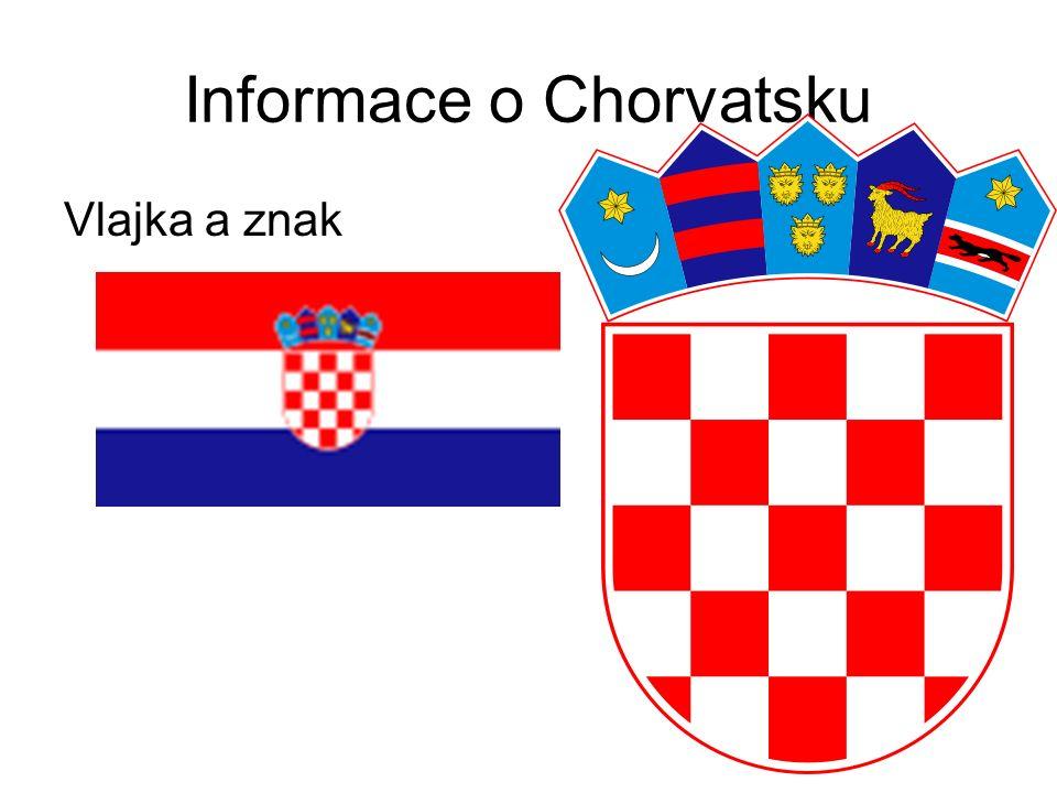 Informace o Chorvatsku Vlajka a znak