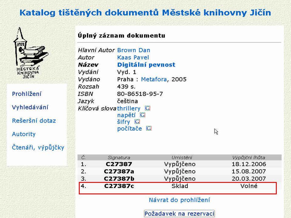 Porada profesionálních knihoven Středočeského kraje Vyhledat dokument jinde