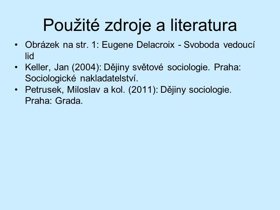 Použité zdroje a literatura Obrázek na str.