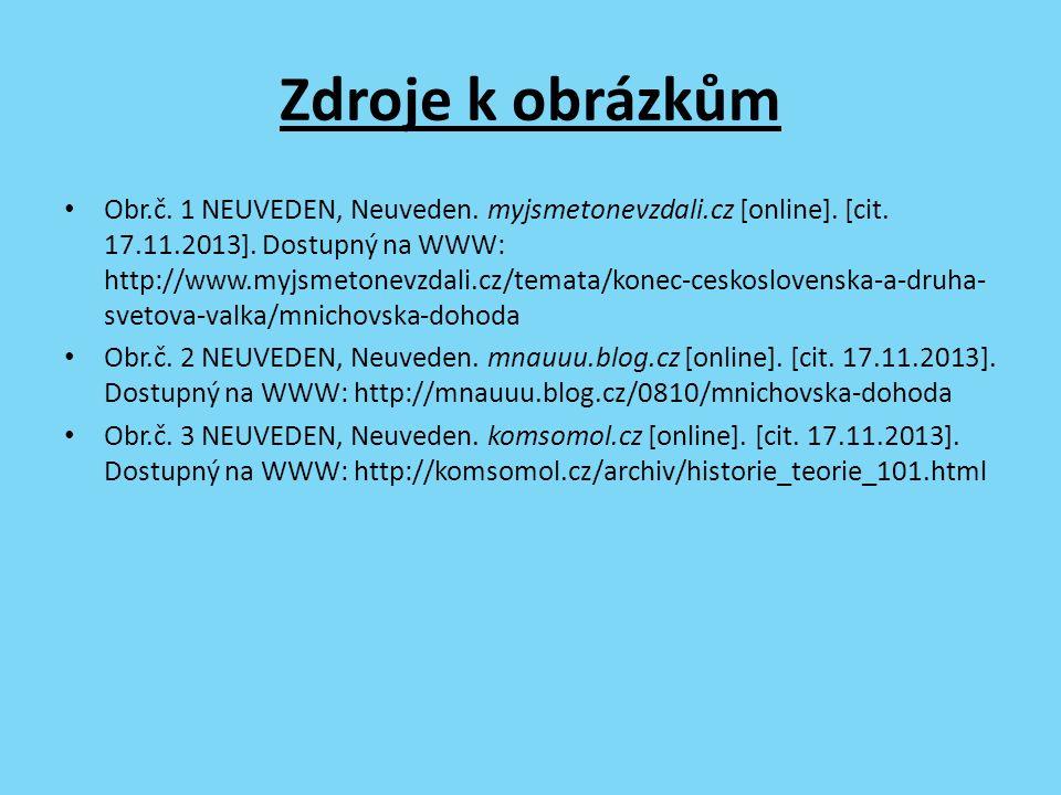 Zdroje k obrázkům Obr.č. 1 NEUVEDEN, Neuveden. myjsmetonevzdali.cz [online].