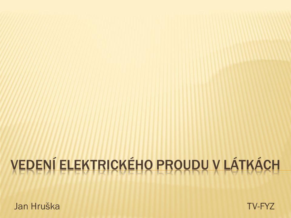 Ahoj, tak jsme tady znovu a pokusíme se Vám vysvětlit problematiku vedení elektrického proudu v látkách.