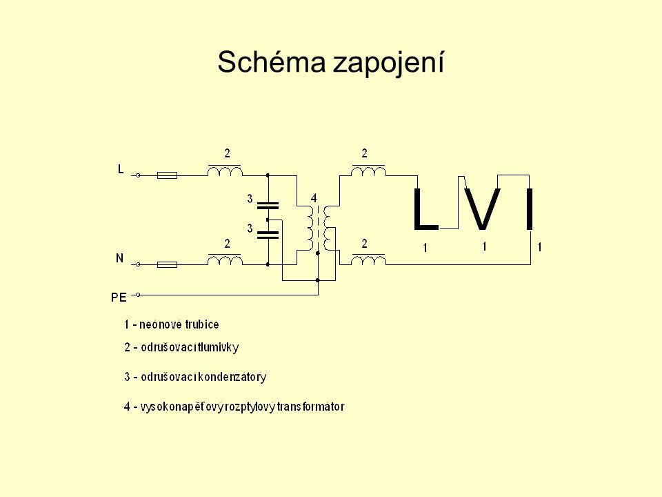 Doutnavky Baňka je plněna elektricky vodivými plyny ( argon, neon ) elektrody jsou z čistých kovů.