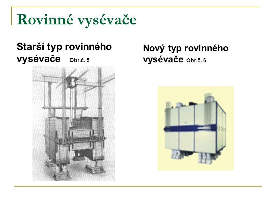 Rovinné vysévače Starší typ rovinného vysévače Obr.č. 5 Nový typ rovinného vysévače Obr.č. 6