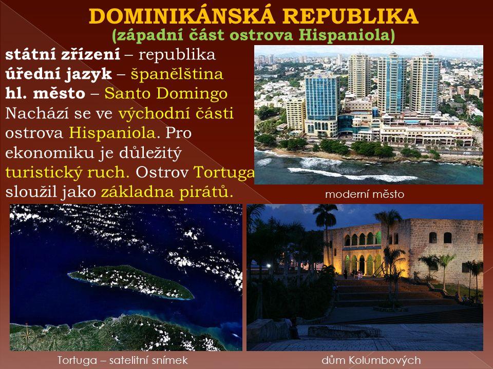 HAITI Nejchudší země Ameriky. Zemi zničilo zemětřesení v roce (2010).
