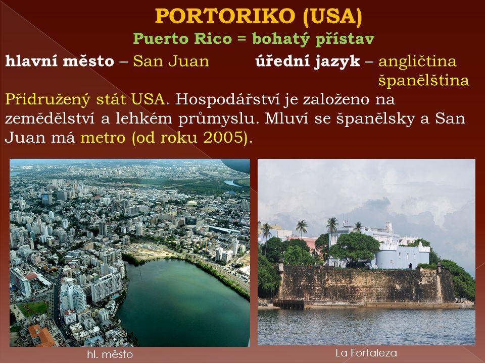 DOMINIKÁNSKÁ REPUBLIKA státní zřízení – republika úřední jazyk – španělština hl.