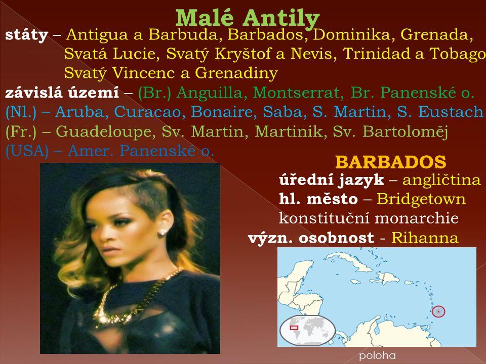 PORTORIKO (USA) Puerto Rico = bohatý přístav hlavní město – San Juan úřední jazyk – angličtina španělština hl.