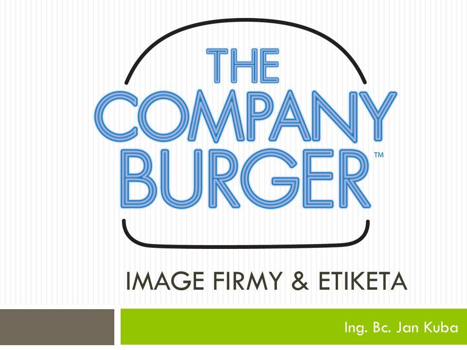 IMAGE FIRMY & ETIKETA Ing. Bc. Jan Kuba