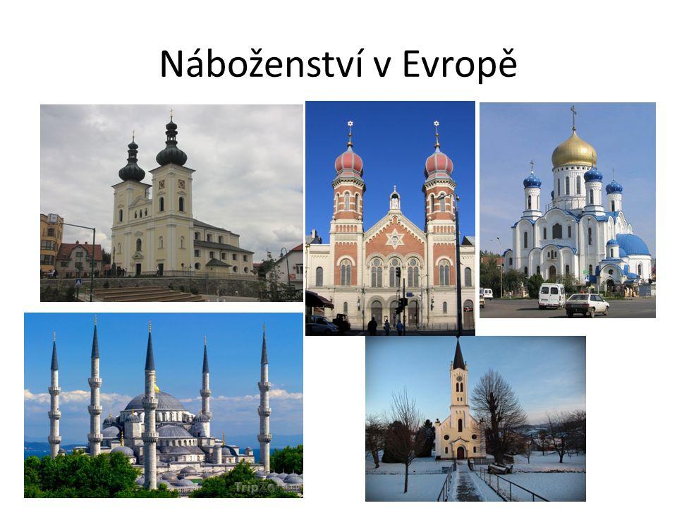 Náboženství v Evropě