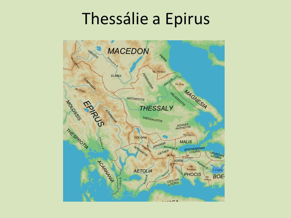 Thessálie a Epirus