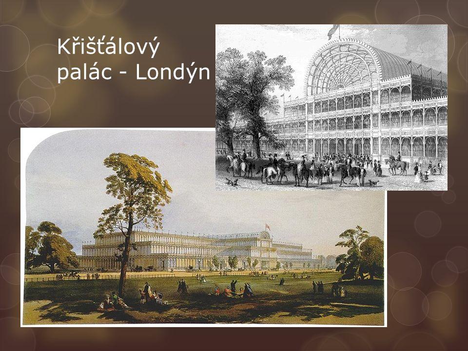 Křišťálový palác - Londýn