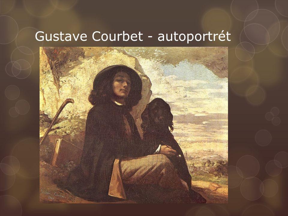 Gustave Courbet - autoportrét