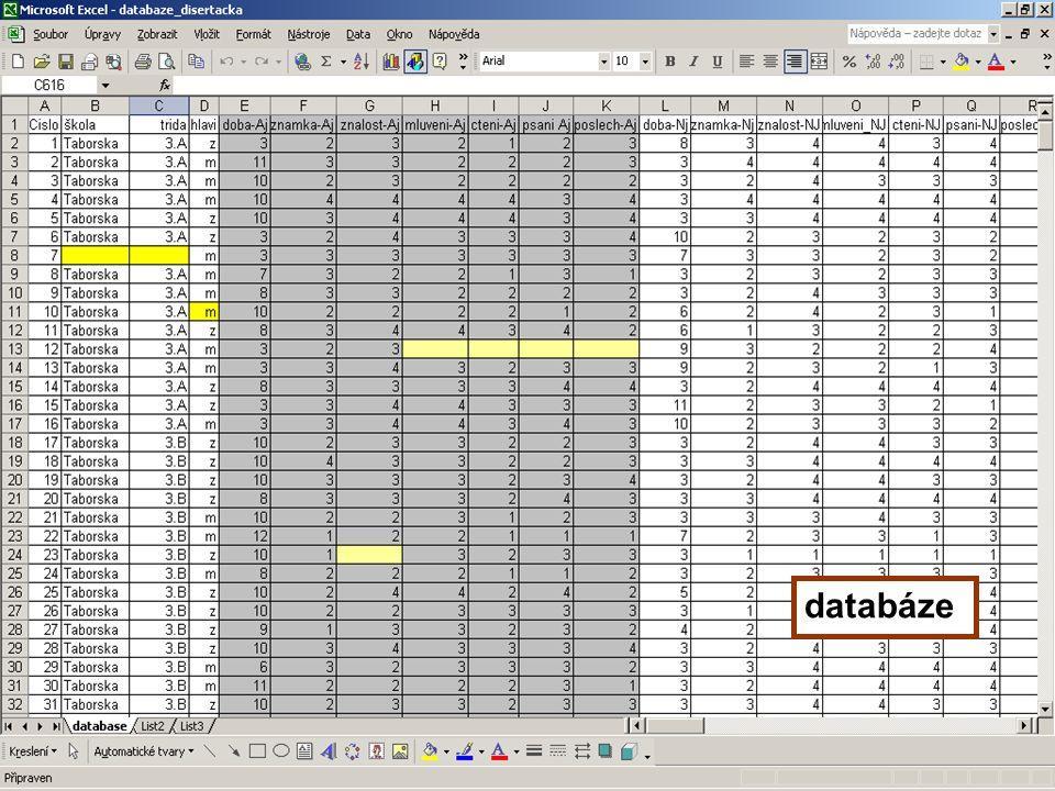 21 databáze
