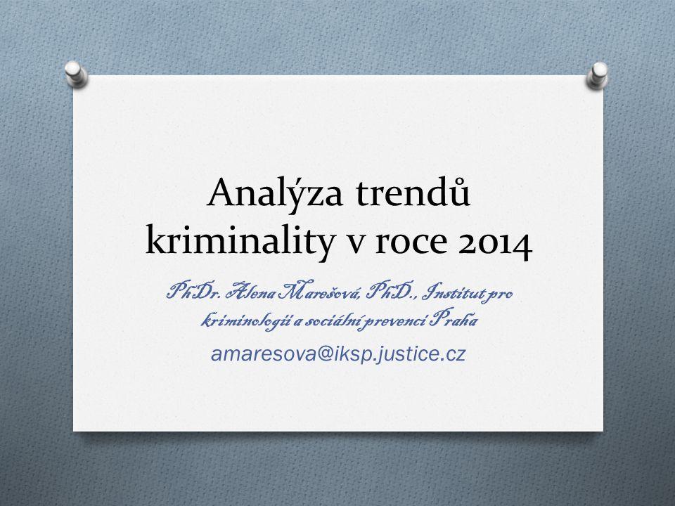 Analýza trendů kriminality v roce 2014 PhDr.