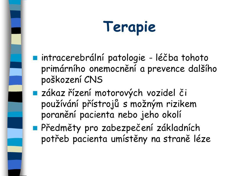 Terapie Předměty umístěné kontralaterálně jsou součástí terapeutické rehabilitace optické pomůcky, přenášející alespoň část obrazu z kontralezionální do ipsilezionální části zorného pole agonistou dopaminu bromocriptin