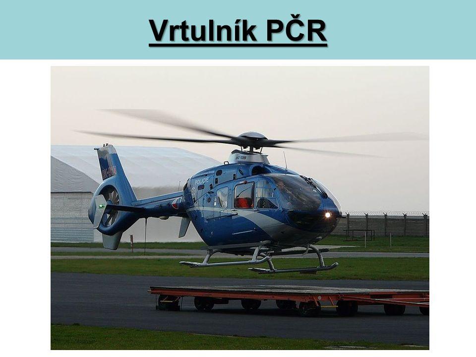 Vrtulník PČR