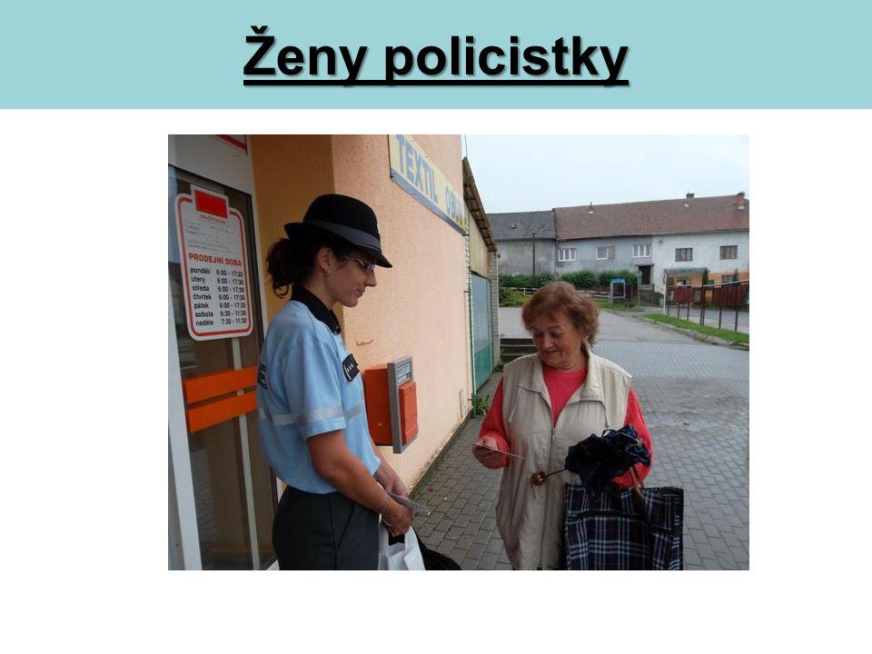 Ženy policistky
