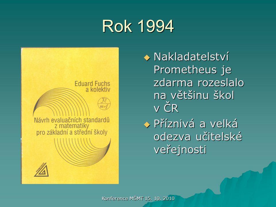 Konference MŠMT 15. 10. 2010 1998-2004