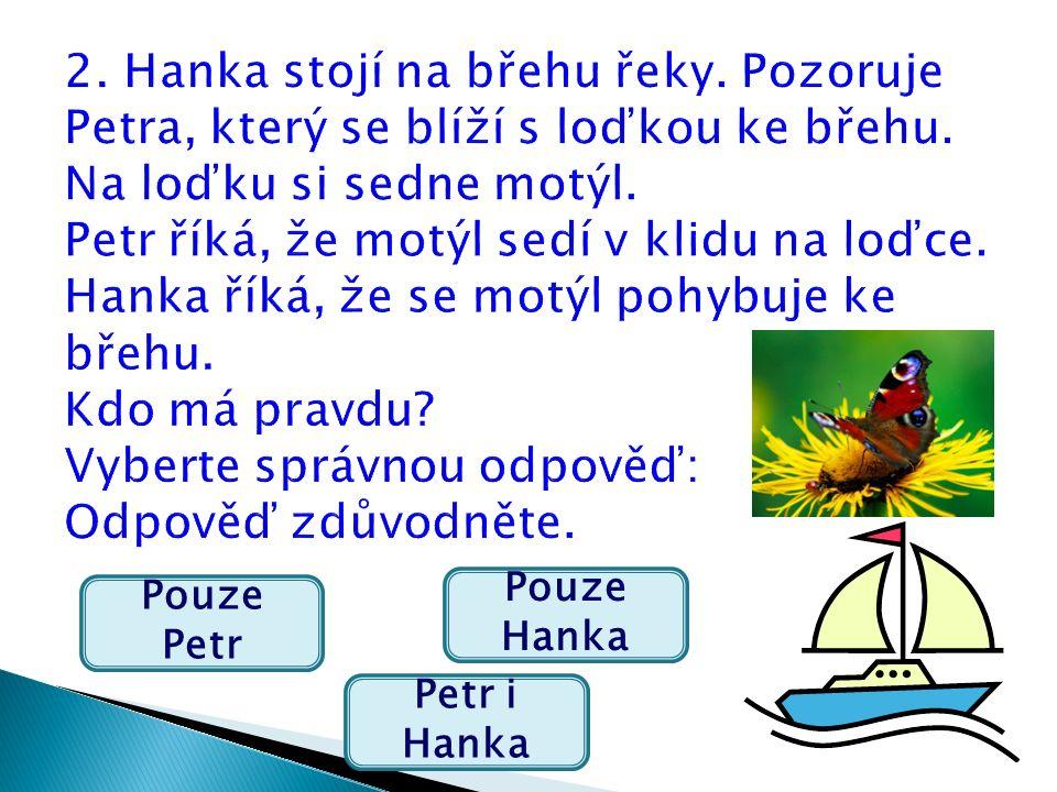 Pouze Petr Petr i Hanka Pouze Hanka
