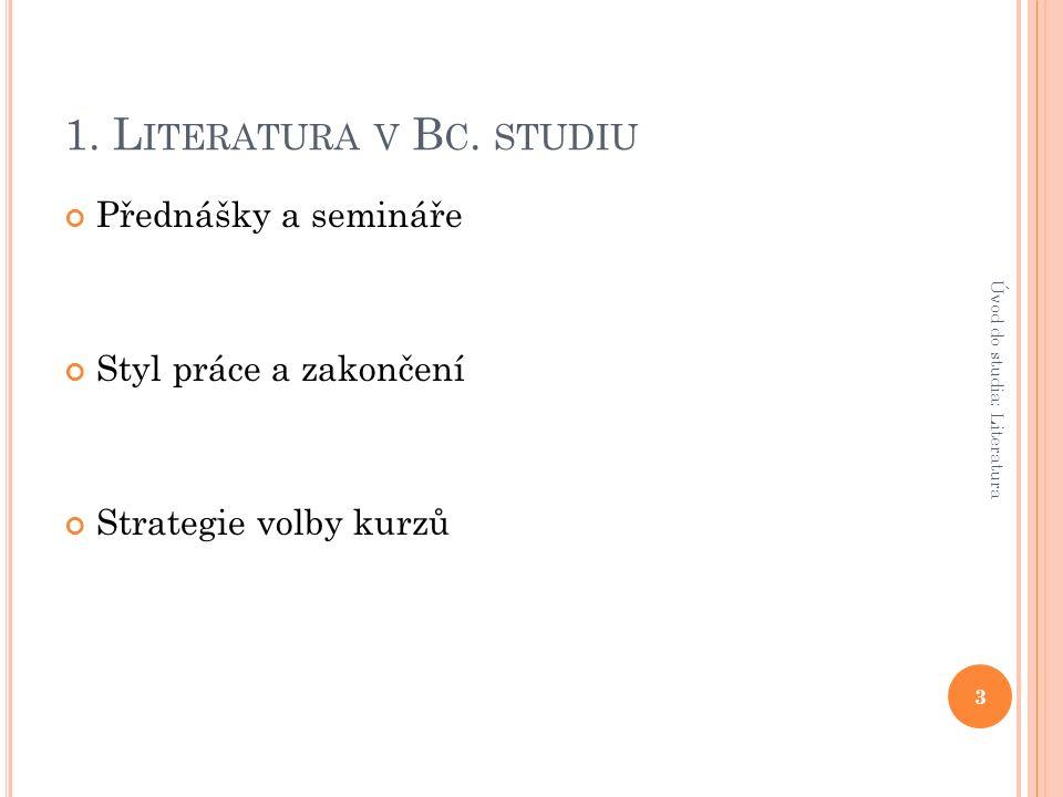 1. L ITERATURA V B C.