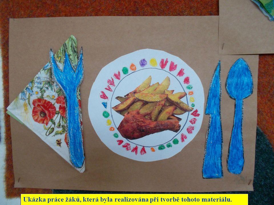 Ukázka práce žáků, která byla realizována při tvorbě tohoto materiálu.