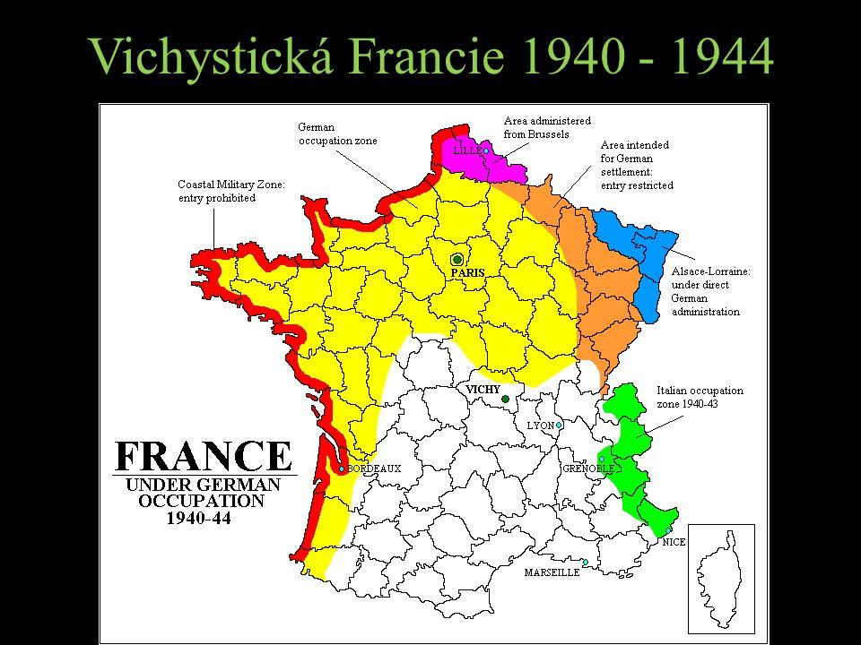 Vichystická Francie 1940 - 1944