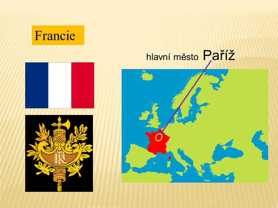 Francie hlavní město Paříž