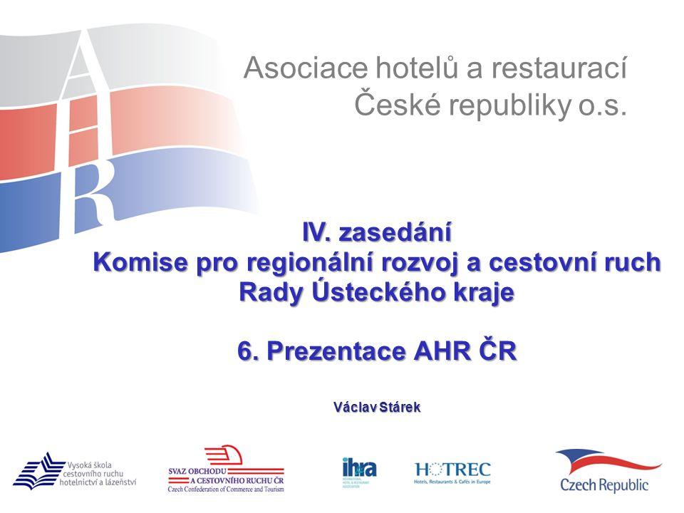 www.ahrcr.cz IV. zasedání Komise pro regionální rozvoj a cestovní ruch Rady Ústeckého kraje 6.