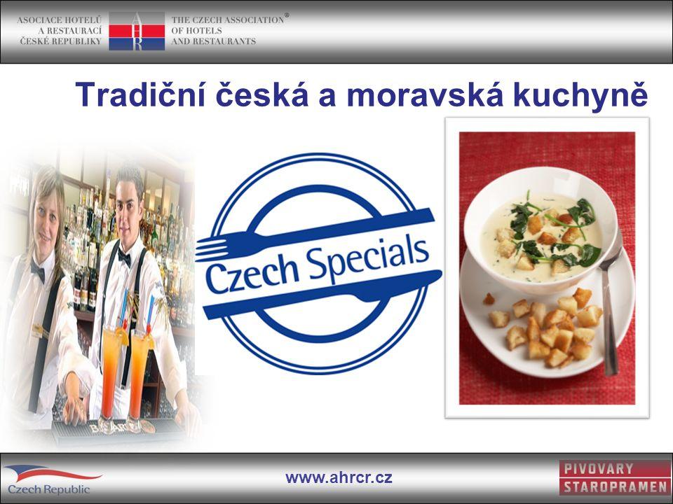 Tradiční česká a moravská kuchyně
