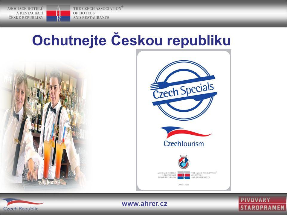 www.ahrcr.cz Ochutnejte Českou republiku