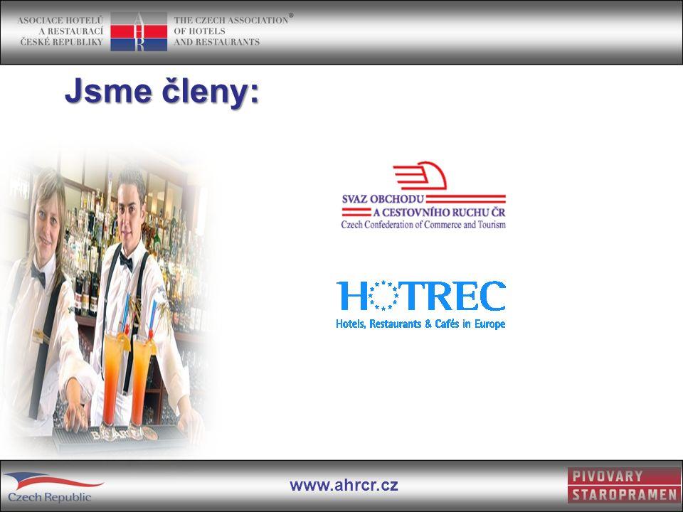 www.ahrcr.cz Jsme členy: