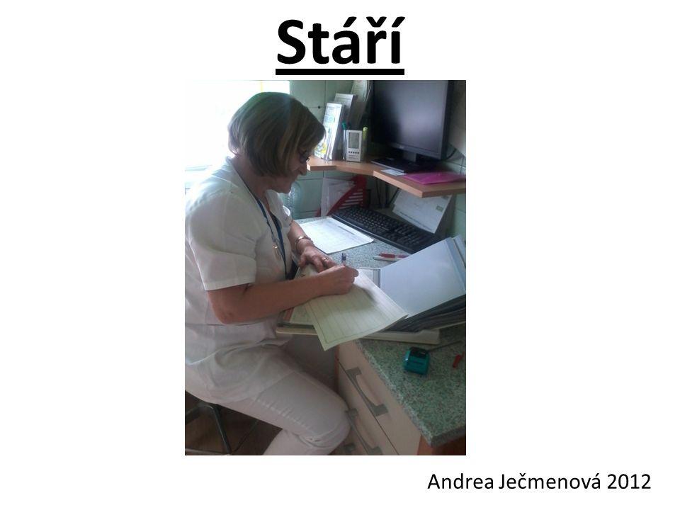 Stáří Andrea Ječmenová 2012