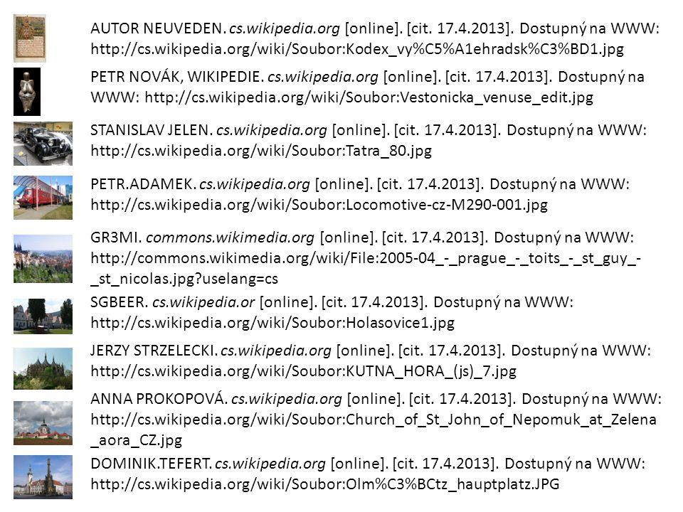 AUTOR NEUVEDEN. cs.wikipedia.org [online]. [cit.