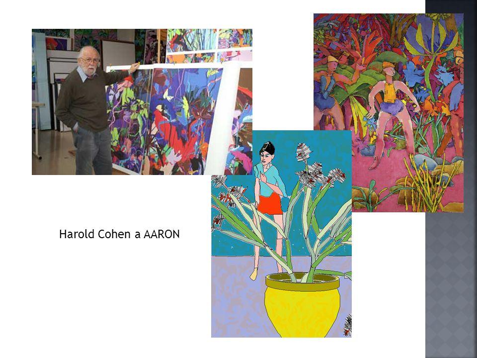 Harold Cohen a AARON