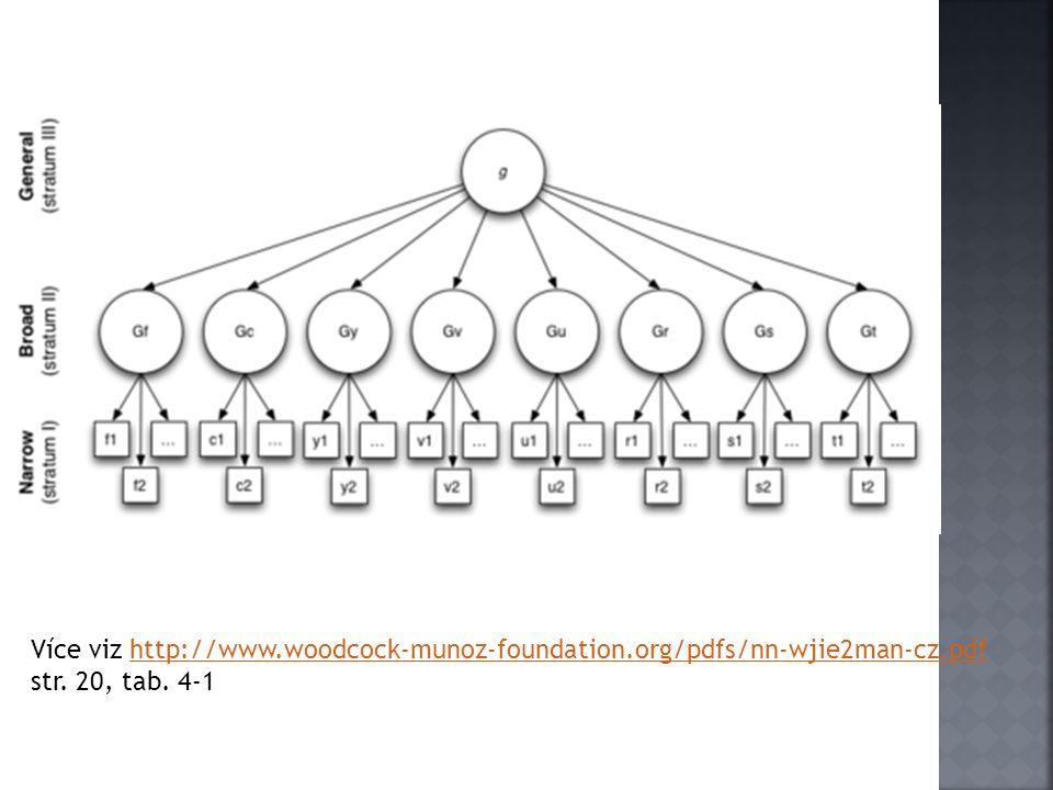 Více viz http://www.woodcock-munoz-foundation.org/pdfs/nn-wjie2man-cz.pdf str. 20, tab. 4-1http://www.woodcock-munoz-foundation.org/pdfs/nn-wjie2man-c