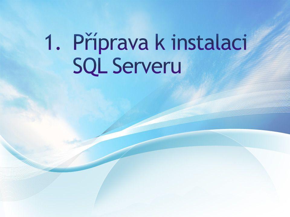 Vychází ze Sybase SQL Server VerzeRokNázevCodename 7.01998SQL Server 7.0Sphinx 1999SQL Server 7.0 OLAP ToolsPlato 8.02000SQL Server 2000Shiloh 8.02003SQL Server 2000 64-bit editionLiberty 9.02005SQL Server 2005Yukon 10.02008SQL Server 2008Katmai 10.52010SQL Server 2008 R2Kilimanjaro 112012SQL Server 2012Denali