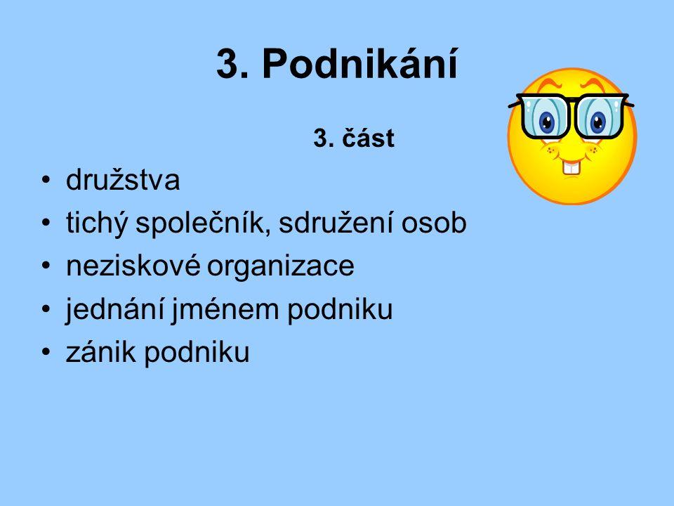 3. Podnikání 3.