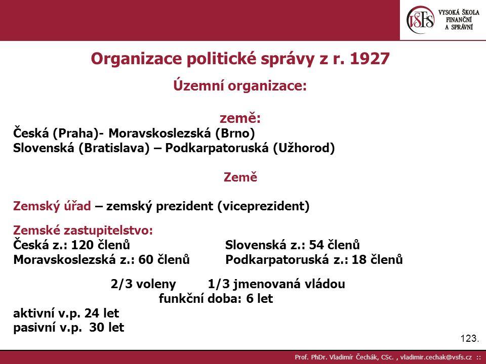 123. Prof. PhDr.