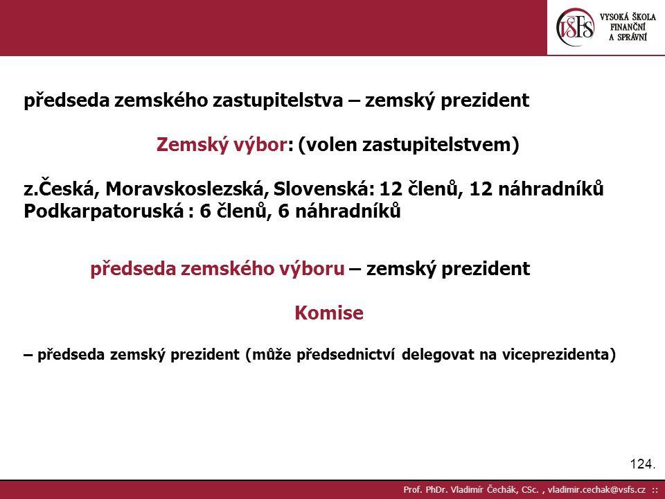 124. Prof. PhDr.