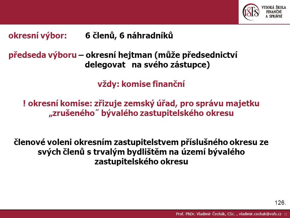 126. Prof. PhDr.