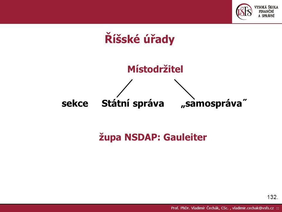 132. Prof. PhDr.