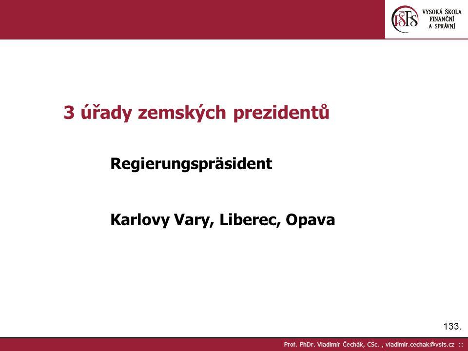 133. Prof. PhDr.